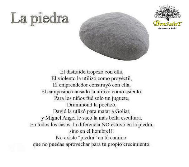 la piedra