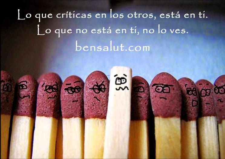 lo que criticas