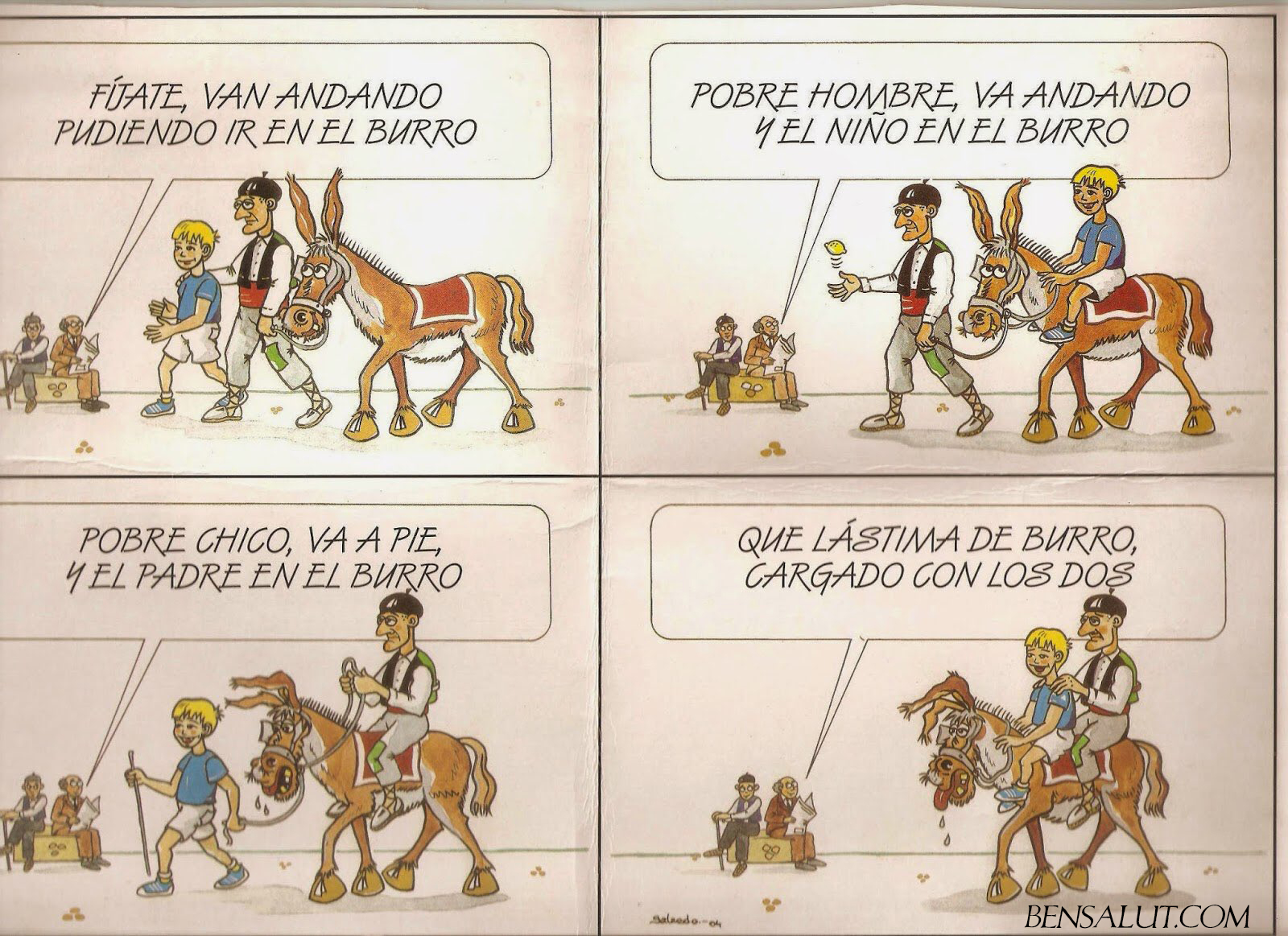 Abuelo_Hijo_Burro